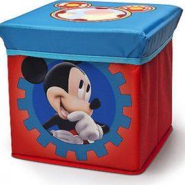 Forclaire Dětský taburet s úložným prostorem Mickey I