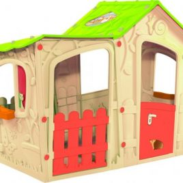 Rojaplast Domeček MAGIC VILLA PLAY HOUSE – béžový